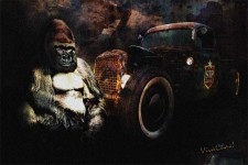 Rat Rods - Not Driven By Gorillas - Click the Pix to Shop for a Print or Canvas!