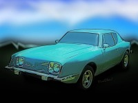 Avanti Too Copyrighted Image from VivaChas Hot Rod Art! - Click the Pix to Buy a Print ~;0)