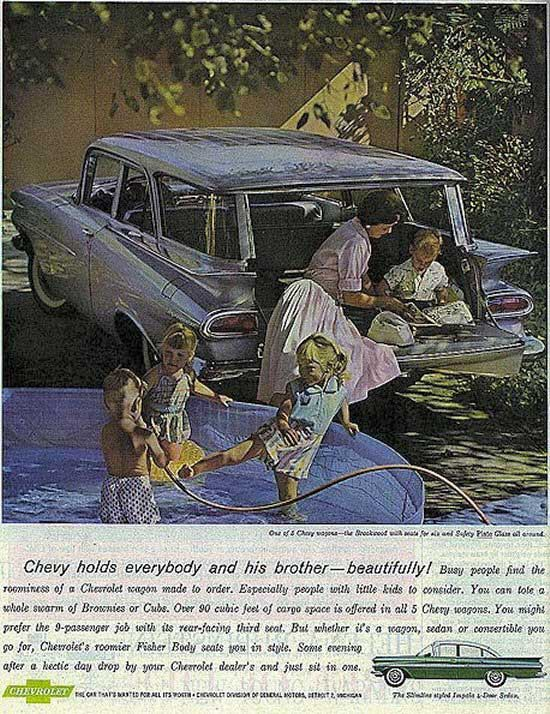 From Chevy Impala Convertible to Wagons Old Car Advertising has 'em all! ~;0)