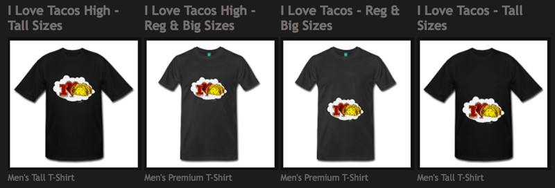 There R hundreds of VivaChas Tees Just 4 U! - Click the Pix to Shop!