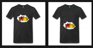 Taco Wagon Logo T-Shirts feature Ur Choice of stomach or chest location - Haa!! - Click Pix to Shop!