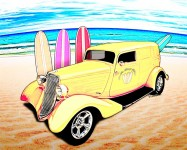 Surf Shop Sedan Deliver from VivaChas - Click the pix to shop 4 Ur copy!