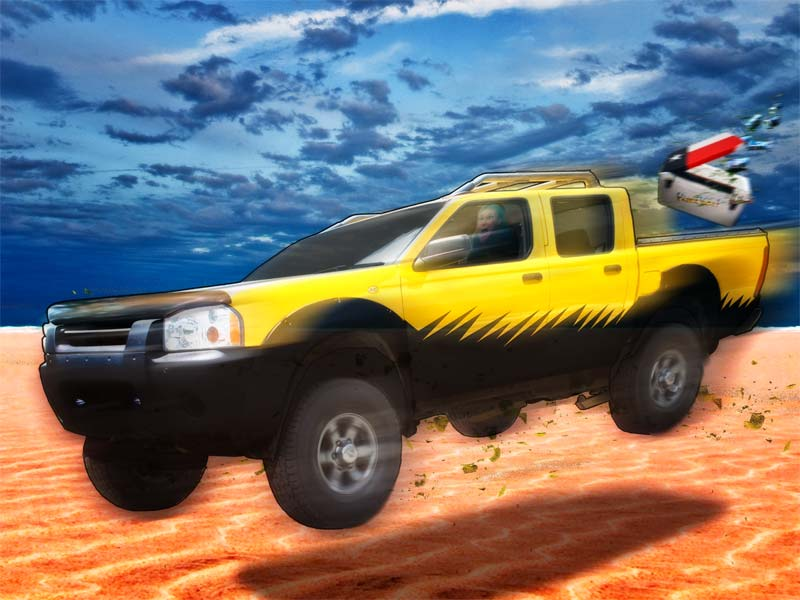 VivaChas Beach Adventure and the Yellow Dog Pickup! - Click Pix to Shop 4 a Nice Print!