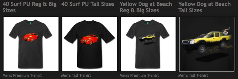 Shop Hot Rod T-shirts at the VivaChas Tee Shop! Click Pix to Get Ur Tees!