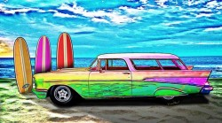 57 Chevy Nomad Wagon is the place you wanna be! - Read the VivaChas Story - Click Pix! or Text Link!