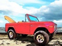 VW Surf Bus vs. Surf Bronco U R still at the Beach having Fun! ~ Klick the pix check out the Surf Bronco Post!