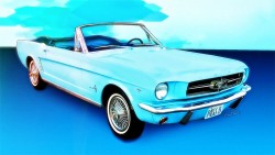 64 65 Mustang Convertible from VivaChas! Click Pix to Shop 4 a Print! ~;0)