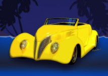 Ford Roadster 1937 from VivaChas! Click the Pix to see a larger version and order a print! ~;0)