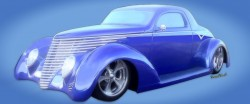Hot Rod Dreams of a 37 Coupe Rendering by VivaChas Hot Rod Art! Click the Pix to Shop 4 a Print or Gift!