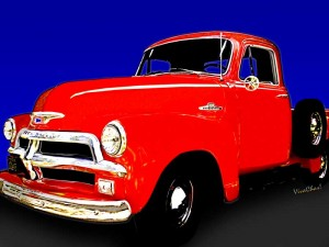Hot Rod Hot One has a 52 Rat Truck Buddy - 1954 Chevy Pickup and Story from VivaChas