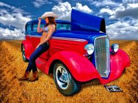 Hot Rod Hot One - just the kind of photo-print you need! - Click Pix to Shop for a print!
