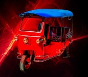 Best First Car for a Millennial - Tuk-Tuk maybe - Click the Pix to Get a Pix of Chas' Tuk-Tuk Dream!
