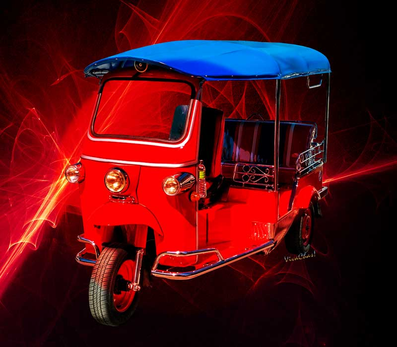Hot Rod T Shirts >> Best First Car is a Tuk-Tuk - VivaChas Hot Rod Stories!!!