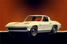 63 Corvette is the beginning of the 2nd Generation in the History of the Vette - Click Pix or link in Text to Buy a Print on the product of your choice
