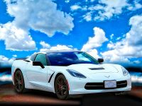 Corvette C-7 Day at the Beach is available as a print on canvas and other surface - Click the Pix or the Text Link to Buy a VivaChas Print!