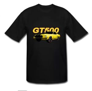 Mustang GT500 Tall Sizes Men's Tee - Women's sizes and more! - Click this Pix to Go There!