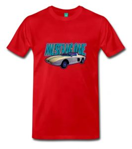 Mustang One Prototype T-Shirt Reg & Big Sizes - Click Pix to Shop for your Tee!