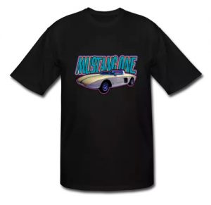 Mustang One Prototype Tall Sizes T-Shirt!  - Click Pix to Shop for Tall!
