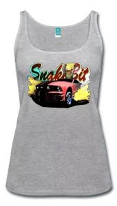 5th Gen Mustanger Burnout Lady Tank - Click this pix to shop this bewdy!