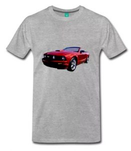 Ford 5th Generation Mustang Convertible Men's Reg & Big size Tee! - click this pix to shop this size