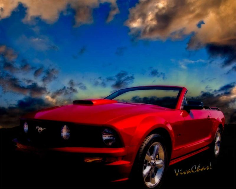 Ford Mustang GT 5th Generation Mustang Dream American Dream - click pix or text link to Buy a Copy Now!