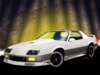 3rd generation Chevrolet Camaro Automotive Art from VivaChas - Click the Pix or the link in the text to Shop for Hot Car Art!