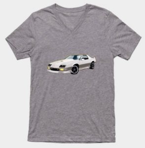 3rd Generation Chevrolet Camaro Men's V-Neck Tee and lots of other stuff! - Click Pix to Shop!