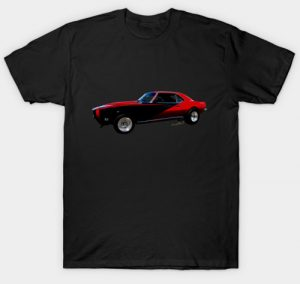 Red and Black Custom 1st Gen T-Shirt and more! - Click this pix to shop for this shirt!