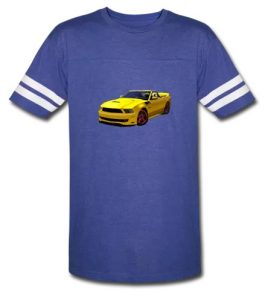 2014 Saleen Mustang Convertible s351 Men's Sport T-Shirt! - Click this pix to shop for this shirt!