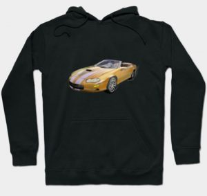 2002 4th Generation Camaro Convertible Hoodie - Click Pix to Shop this hoodie, other stuff and Tees!