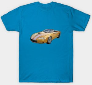 2002 4th Generation Camaro Convertible Men's Tee - Click Pix to Shop this Tee and other stuff!