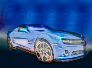 5th Generation Chevy Camaro 2009-2015 Automotive Art from VivaChas! Click the Pix or the Text Link to Order Your Print!
