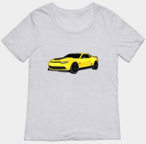 Yellow 2016 Camaro Lady's Tees and more - Click Pix to Shop!