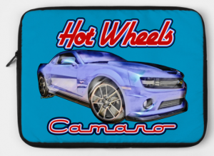 5th Generation Chevy Camaro 2009-2015 - Hot Wheels Camaro Computer Zippered Pouch from VivaChas - Click Pix to Get It!