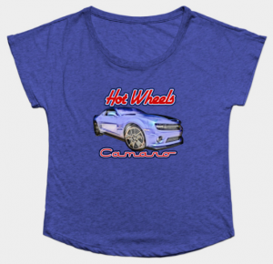 5th Generation Chevy Camaro - Hot Wheels Edition Lady's and Man's Tees - Click Pix to Shop!