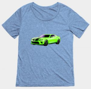 2016 Camaro Lady's T-Shirt by VivaChas! Click the Tee to go get it!!