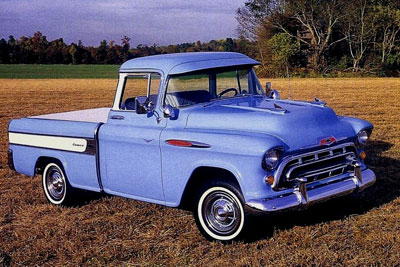 1957 chevy Cameo Carrier pix from the nice folks at Classic Car History! - Thanks!