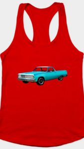 64 Chevy El Camino 2nd Generation - Razor Back Tank and many more styles! - Click Pix to Shop!