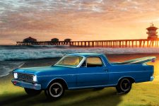 1966 Ford Ranchero at the Pier a print from VivaChas - Click Pix or text link to shop for lots of gifts featuring this image!!