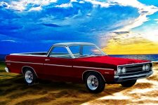 1968 Ford Ranchero and 1969 print from VivaChas - Click the Pix to Shop for Great Stuff from the Best Vendor!