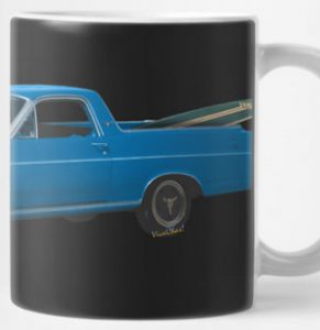 1966 Ford Ranchero Mug from VivaChas - Click this pix to shop for lots of stuff with this Ranchero on it!