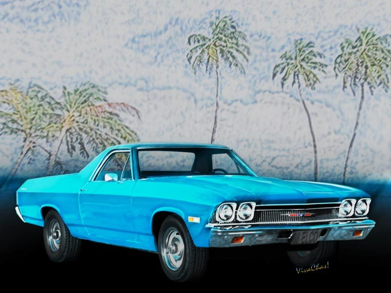 68 Chevy El Camino Stuff from VivaChas! - Click the Pix or text link to shop for Great Gifts featuring this fab ride! ~;0)