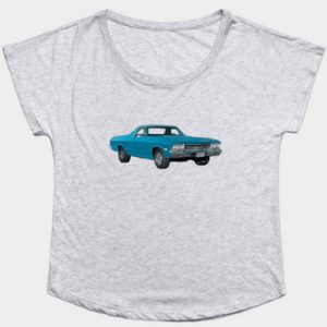 68 Chevy El Camino women's soft tee - click pix to shop for lots of tees!