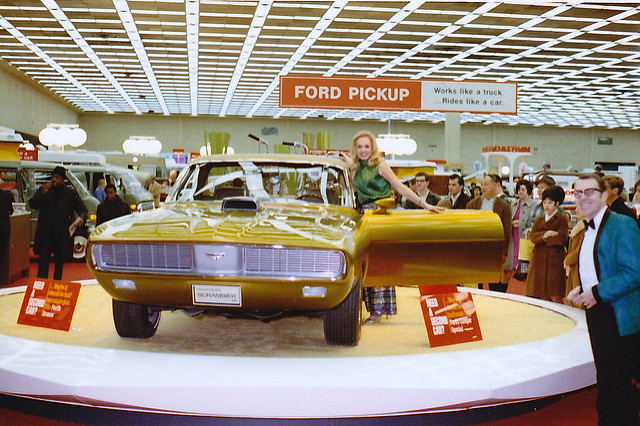 69 Ranchero Scrambler Concept UTE at the 69 Detroit Auto Show! Image courtesy Wiki! Public Domain
