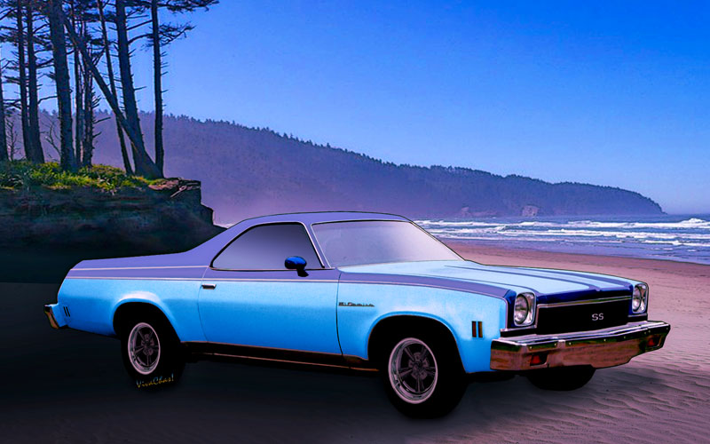 4th Generation El Camino Northern California Coast - Click Pix to Buy a Print or Product from Chas!