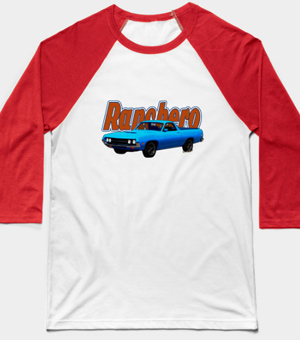 1970 Ranchero Dominican Beach Sunrise on a Baseball Tee and other shirts and other products from VivaChas! - Click the pix to explore just the right Ranchero Gift for you!
