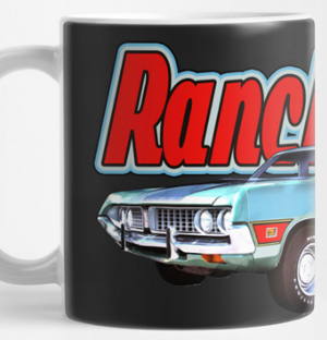 1971 Ford Ranchero Mug and more! Click this pix to shop for products featuring this ride!
