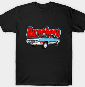 1971 Ranchero Tees for Men and Women from VivaChas! - Click this pix to get everybody a great T-Shirt Originals!!