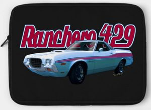 72 Ford Rancher on your laptop case! How Cool is That!! - Click the Pix to Shop for Great Stuff from Chas!