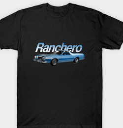 1979 Ranchero GT T-Shirt for Men and Women - lots of styles and colours - Get Yours Click Pix!